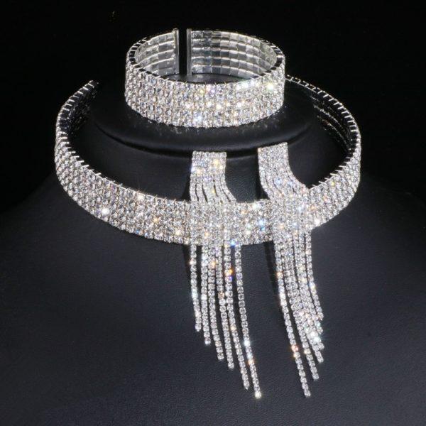 Tel Crystal Bridal Jewelery