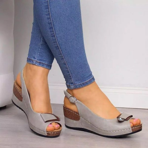 Rome Casual Sandals, Women Wedges